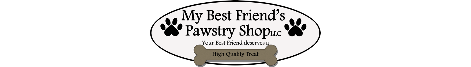 My Best Friend's Pawstry Shop Logo