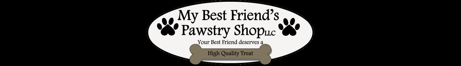 My Best Friend's Pawstry Shop Logo